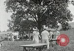 Image of Quakers picnic Saline Michigan USA, 1938, second 53 stock footage video 65675023122