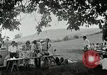 Image of Quakers picnic Saline Michigan USA, 1938, second 54 stock footage video 65675023122