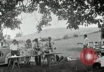 Image of Quakers picnic Saline Michigan USA, 1938, second 55 stock footage video 65675023122