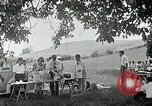 Image of Quakers picnic Saline Michigan USA, 1938, second 56 stock footage video 65675023122