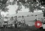 Image of Quakers picnic Saline Michigan USA, 1938, second 57 stock footage video 65675023122