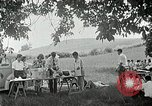 Image of Quakers picnic Saline Michigan USA, 1938, second 58 stock footage video 65675023122