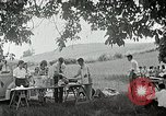 Image of Quakers picnic Saline Michigan USA, 1938, second 59 stock footage video 65675023122