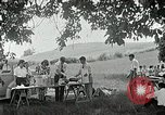 Image of Quakers picnic Saline Michigan USA, 1938, second 60 stock footage video 65675023122