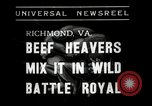 Image of Wrestling match Richmond Virginia USA, 1938, second 2 stock footage video 65675023168