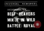 Image of Wrestling match Richmond Virginia USA, 1938, second 4 stock footage video 65675023168