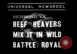 Image of Wrestling match Richmond Virginia USA, 1938, second 5 stock footage video 65675023168