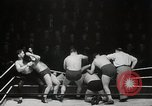 Image of Wrestling match Richmond Virginia USA, 1938, second 22 stock footage video 65675023168