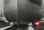 Image of Ships launching Scotland United Kingdom, 1950, second 21 stock footage video 65675023185
