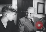 Image of Harry S Truman Independence Missouri USA, 1948, second 28 stock footage video 65675023234