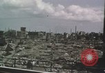 Image of Damaged city Tokyo Japan, 1945, second 56 stock footage video 65675023242
