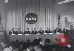 Image of NASA press conference Washington DC USA, 1959, second 12 stock footage video 65675023288