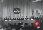 Image of NASA press conference Washington DC USA, 1959, second 13 stock footage video 65675023288