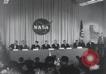 Image of NASA press conference Washington DC USA, 1959, second 14 stock footage video 65675023288