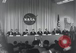 Image of NASA press conference Washington DC USA, 1959, second 15 stock footage video 65675023288