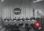Image of NASA press conference Washington DC USA, 1959, second 16 stock footage video 65675023288