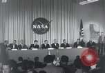 Image of NASA press conference Washington DC USA, 1959, second 18 stock footage video 65675023288