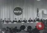 Image of NASA press conference Washington DC USA, 1959, second 20 stock footage video 65675023288