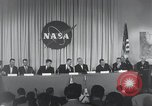 Image of NASA press conference Washington DC USA, 1959, second 21 stock footage video 65675023288