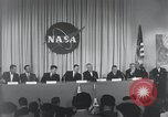 Image of NASA press conference Washington DC USA, 1959, second 22 stock footage video 65675023288