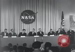 Image of NASA press conference Washington DC USA, 1959, second 23 stock footage video 65675023288