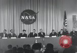 Image of NASA press conference Washington DC USA, 1959, second 24 stock footage video 65675023288