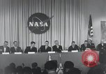 Image of NASA press conference Washington DC USA, 1959, second 25 stock footage video 65675023288