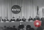 Image of NASA press conference Washington DC USA, 1959, second 26 stock footage video 65675023288