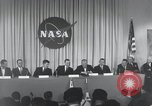 Image of NASA press conference Washington DC USA, 1959, second 28 stock footage video 65675023288
