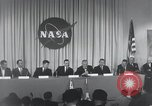 Image of NASA press conference Washington DC USA, 1959, second 30 stock footage video 65675023288
