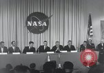Image of NASA press conference Washington DC USA, 1959, second 31 stock footage video 65675023288