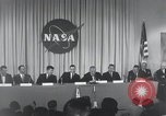 Image of NASA press conference Washington DC USA, 1959, second 32 stock footage video 65675023288