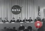 Image of NASA press conference Washington DC USA, 1959, second 33 stock footage video 65675023288