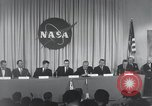Image of NASA press conference Washington DC USA, 1959, second 34 stock footage video 65675023288