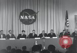 Image of NASA press conference Washington DC USA, 1959, second 35 stock footage video 65675023288