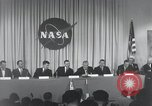 Image of NASA press conference Washington DC USA, 1959, second 36 stock footage video 65675023288