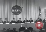Image of NASA press conference Washington DC USA, 1959, second 37 stock footage video 65675023288