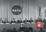 Image of NASA press conference Washington DC USA, 1959, second 38 stock footage video 65675023288
