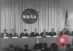 Image of NASA press conference Washington DC USA, 1959, second 40 stock footage video 65675023288