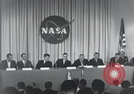 Image of NASA press conference Washington DC USA, 1959, second 41 stock footage video 65675023288