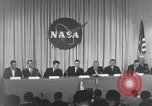 Image of NASA press conference Washington DC USA, 1959, second 43 stock footage video 65675023288