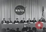 Image of NASA press conference Washington DC USA, 1959, second 44 stock footage video 65675023288