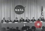 Image of NASA press conference Washington DC USA, 1959, second 47 stock footage video 65675023288