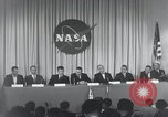 Image of NASA press conference Washington DC USA, 1959, second 49 stock footage video 65675023288