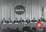 Image of NASA press conference Washington DC USA, 1959, second 51 stock footage video 65675023288