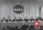 Image of NASA press conference Washington DC USA, 1959, second 52 stock footage video 65675023288