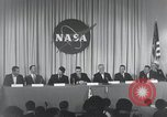 Image of NASA press conference Washington DC USA, 1959, second 53 stock footage video 65675023288