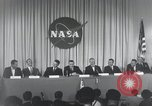 Image of NASA press conference Washington DC USA, 1959, second 54 stock footage video 65675023288