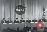 Image of NASA press conference Washington DC USA, 1959, second 55 stock footage video 65675023288