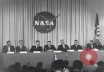 Image of NASA press conference Washington DC USA, 1959, second 56 stock footage video 65675023288
